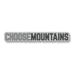 Choose Mountains - Gray/Dark Gray - 7