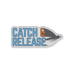 Catch & Release - Gray/Blue - 4