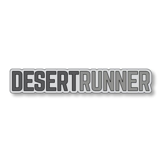Desert Runner - Gray/Dark Gray - 7