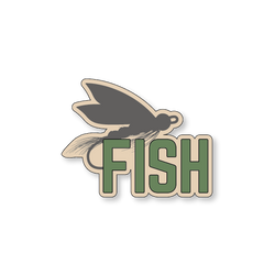 Fly Fish - Sand/Green - 4