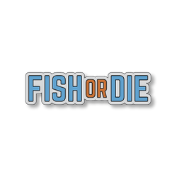 Fish or Die - Gray/Blue - 4.5