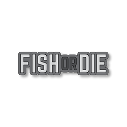 Fish or Die - Dark Gray/Gray - 4.5