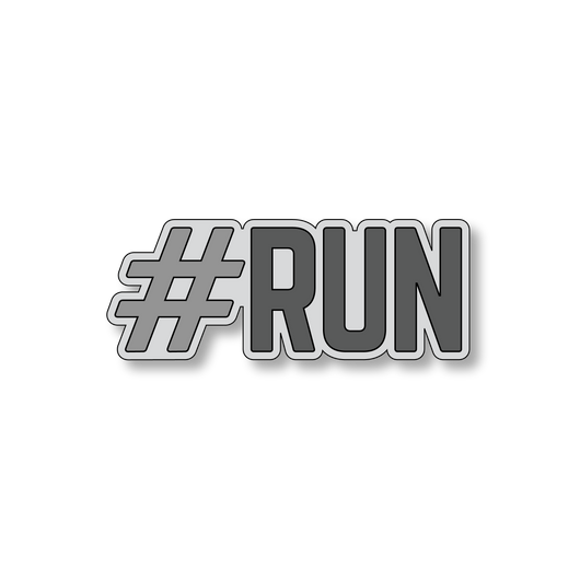 #RUN - Gray/Dark Gray - 5
