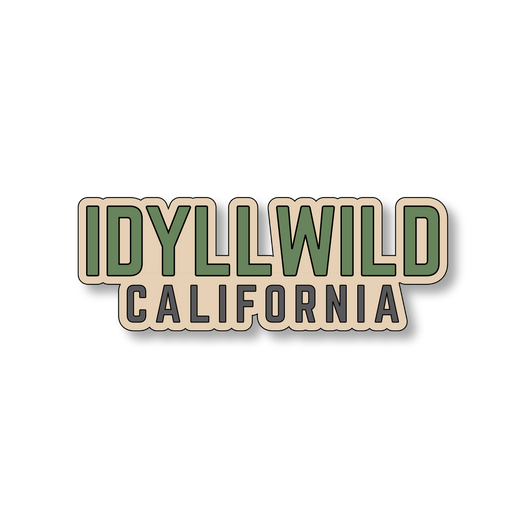 Idyllwild California - Sand/Green - 4.5