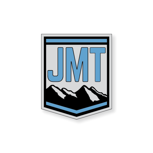 John Muir Trail Badge - Blue - 3