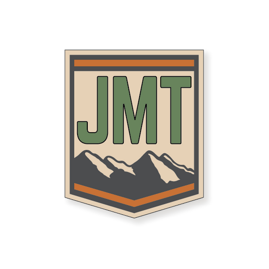 John Muir Trail Badge 2 - Green - 3.5