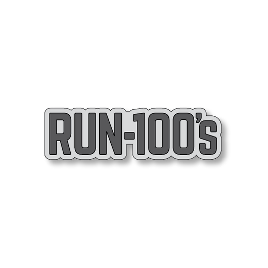Run 100's - Gray/Dark Gray - 4.5