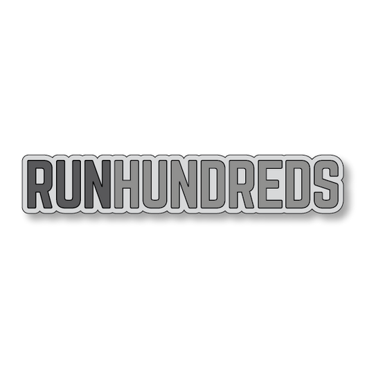 RunHundreds - Gray/Dark Gray - 7