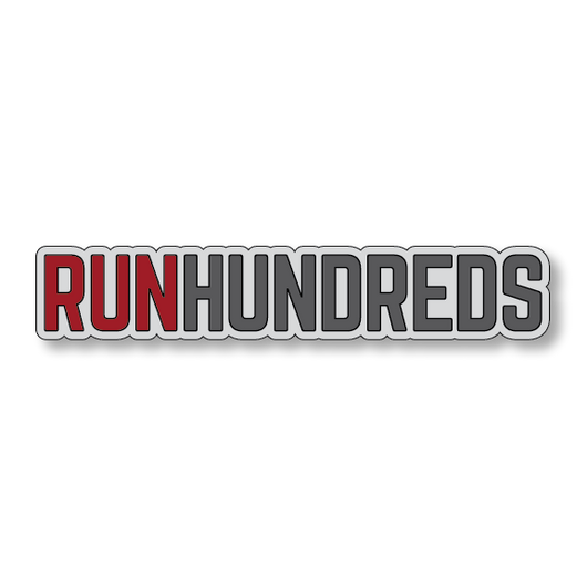 RunHundreds - Gray/Red - 7