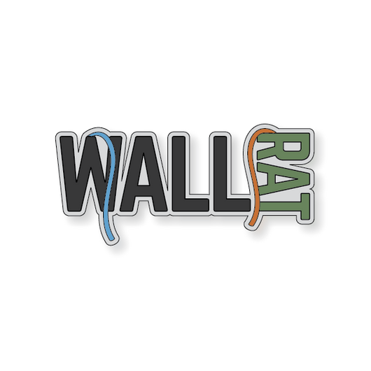 Wall Rat - Dark Gray/Green - 4.5