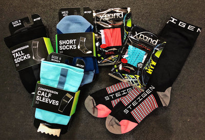 Socks! Laces! Hydration! And More New Accessories at CRC