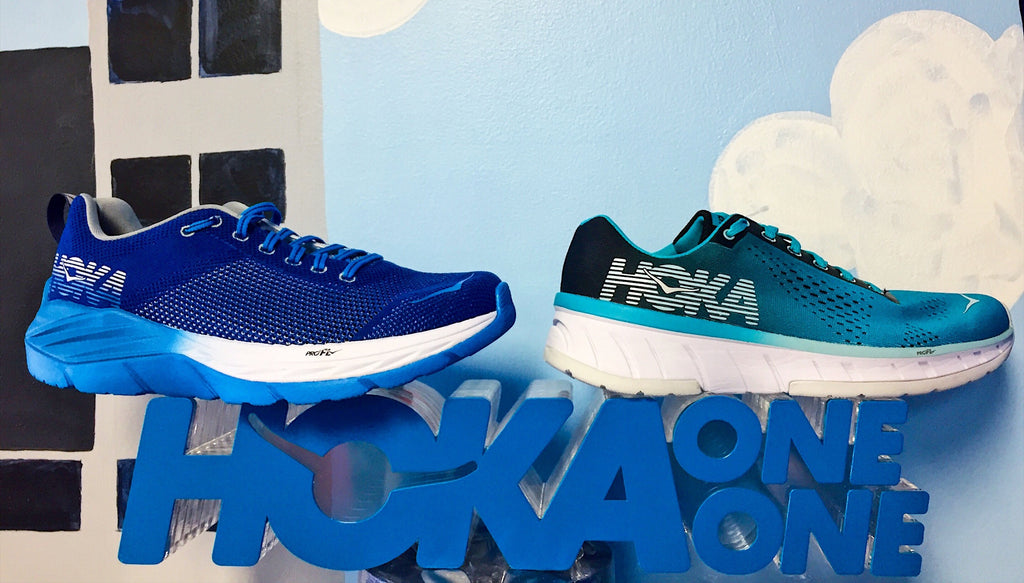 HOKA ONE ONE Fly Collection: Cavu and Mach