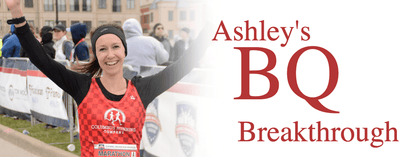 Ashley's Boston Qualifying Breakthrough