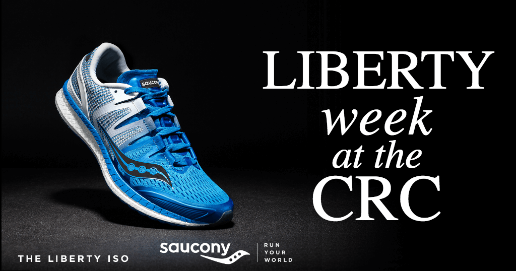 Saucony Liberty Week at the CRC (Nov 30 & Dec 2 Demo Runs)