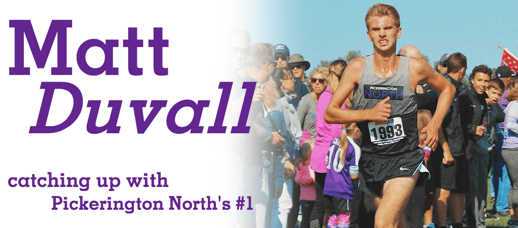 XC Q&A: Pickerington North's Matt Duvall