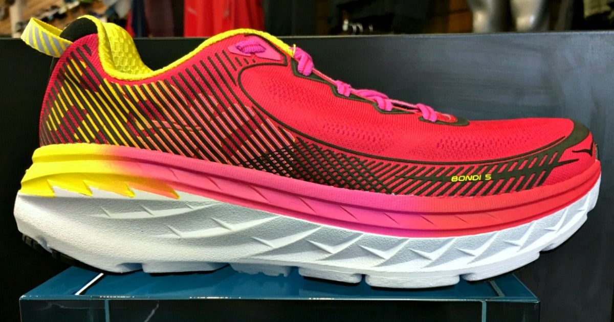 100% authentic 753ea 55cc7 New Shoe Review: Bondi 5 from Hoka One One – Columbus ...