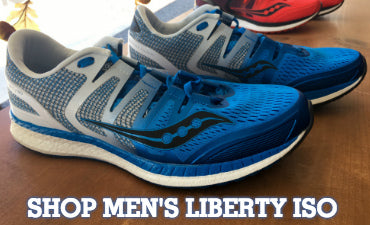 Run Far and Free in the New Saucony Liberty ISO – Columbus