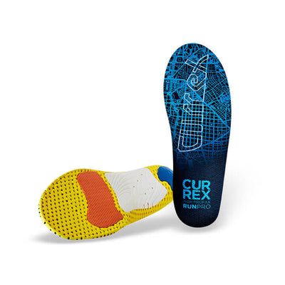 Currex Blue RUNPRO High Profile Orthotic (SKU: RUNPRO-HIGH)