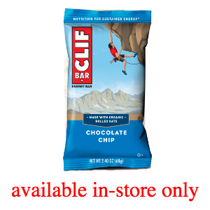 Clif Bar Nutrition Products - Available In-Store Only