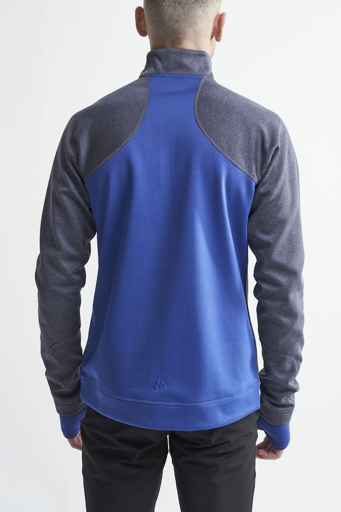 Craft Fleece Half Zip Pullover Herren burstblaze