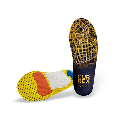 Currex Orange RUNPRO Medium Profile Orthotic (SKU: RUNPRO-MED)