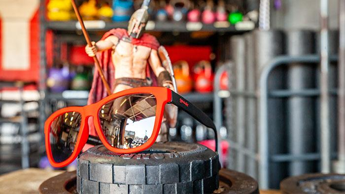 Goodr Sunglasses: This is Sparta!!!! (it's not) (SKU: goodr-tisn)