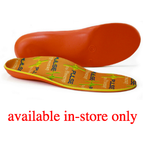 Powerstep Pulse Orthotic (SKU: pulse) available in-store only