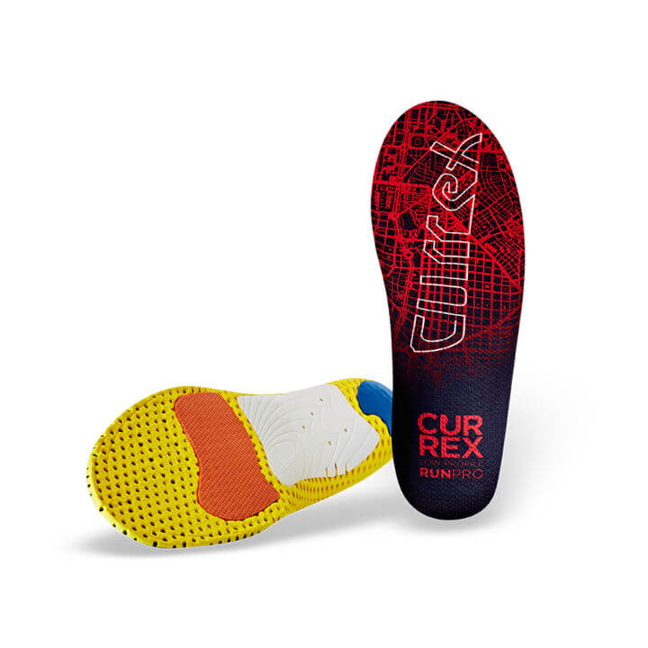 Currex Red RUNPRO Low Profile Orthotic (SKU: RUNPRO-LOW)