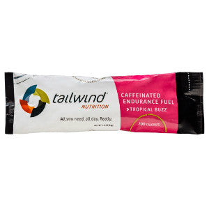Tailwind Caffeinated Endurance Fuel (Tropical Buzz / 2 serving packet) (SKU: TW-12SP-T)