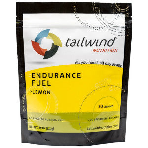 Tailwind Endurance Fuel (Lemon / 30 serving packet) (SKU: TW-EF-L-30)