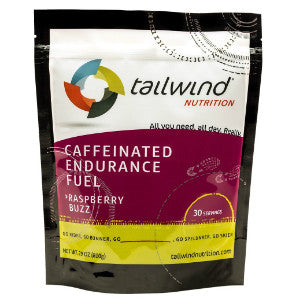 Tailwind Caffeinated Endurance Fuel (Raspberry / 30 serving packet) (SKU: TW-CEF-R-30)