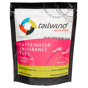 Tailwind Caffeinated Endurance Fuel (Tropical Buzz / 30 serving packet) (SKU: TW-CEF-T-30)