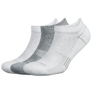 Balege Zulu Three-Pack, White/Grey (SKU: 30216-wg)