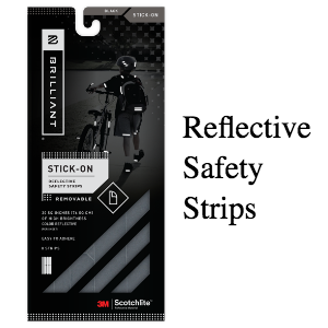 Brilliant Reflective Strips (SKU: BR-black)