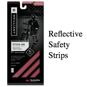 Brilliant Reflective Strips (SKU: BR-RED)