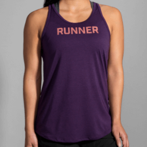 Brooks Distance Graphic Tank (SKU: 221369.513)