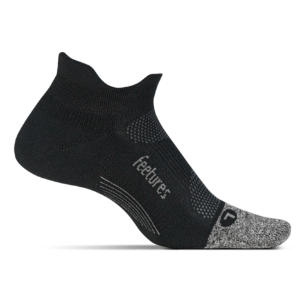 Feetures Elite Light Cushion No Show Tab (color: Black, SKU: E50159)