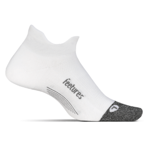 Feetures Elite Light Cushion No Show Tab (color: White, SKU: E50158)