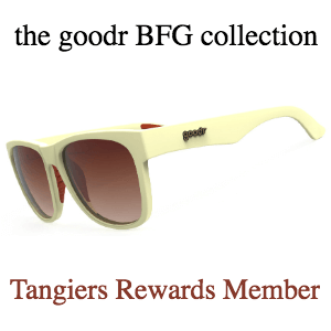 Goodr Sunglasses, BFG Collection: Tangiers Rewards Member (SKU: GOODR-TRM)