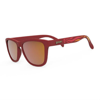 Goodr Sunglasses: Feather O' The Phoenix (SKU: GOODR-FOTP)