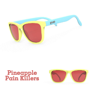 Goodr Sunglasses: Pineapple Pain Killers (SKU: goodr-ppk)