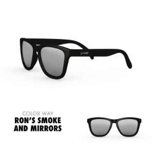 Goodr Sunglasses: Ron's Smoke and Mirrors (SKU: goodr-)