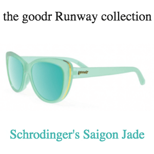 Goodr Sunglasses, Runway Collection: Schrodinger's Saigon Jade (SKU: GOODR-SSJ)