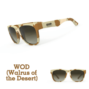 Goodr Sunglasses, Beasting / BFG Collection: Walrus of the Desert (SKU: GOODR-WOD)