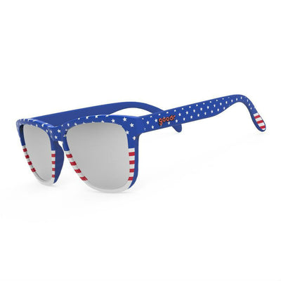 Goodr Sunglasses: Red, White & Booze! (SKU: goodr-rwab)
