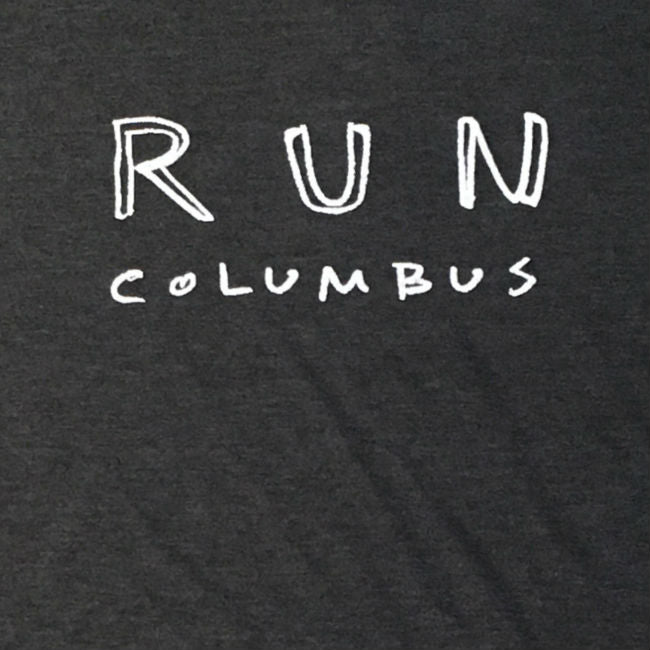 Run Columbus Tee (SKU: RUNCOLUMBUS19)