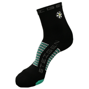 Steigen Performance Sock, Half Length (SKU: 001bh-BLACK)