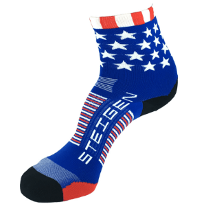 Steigen Performance Sock, Half Length (SKU: 001ss-StarsandStripes)