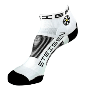 Steigen Performance Sock, Quarter Length (SKU: 001w-White)