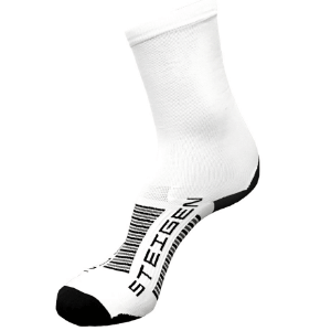Steigen Performance Sock, 3/4 Length (SKU: 001WL-White)